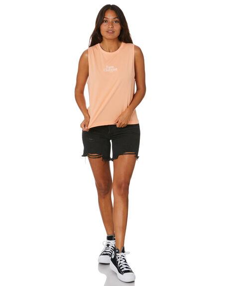 PEACH WOMENS CLOTHING RPM SINGLETS - 20SW08APCH