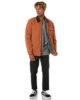 SISU BROWN MENS CLOTHING PATAGONIA JACKETS - 26900SIBR