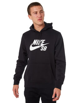 BLACK MENS CLOTHING NIKE JUMPERS - AJ9733010