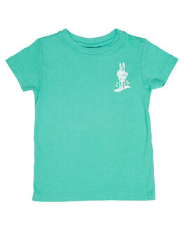CRUSHER GREEN KIDS TODDLER BOYS ALPHABET SOUP TEES - AS-KTC7163CRGRE