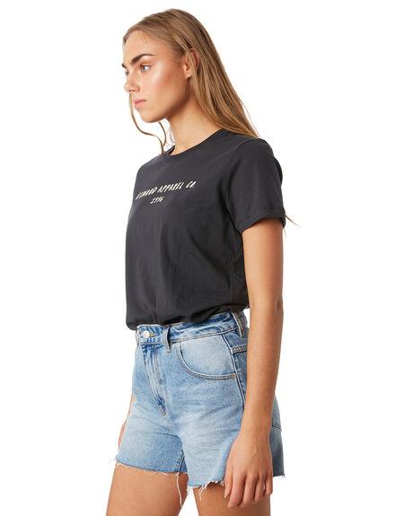 VINTAGE BLACK WOMENS CLOTHING ELWOOD TEES - W93105-AAG