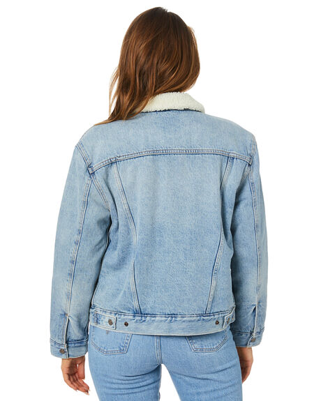 STRANGERWAYS WOMENS CLOTHING LEVI'S JACKETS - 36137-0026SWAYS