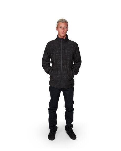 WASHED BLACK MENS CLOTHING BILLABONG JUMPERS - BB-9507605-WAA