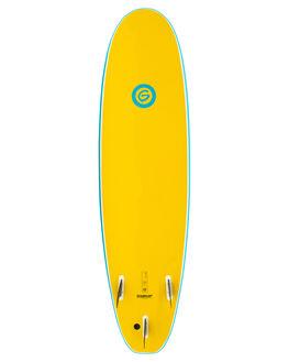 BLUE YELLOW BOARDSPORTS SURF GNARALOO GSI SOFTBOARDS - GN-SOFT-BLYL
