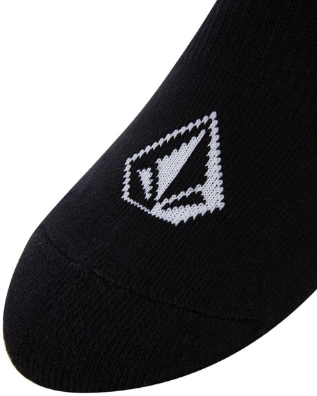 BLACK MENS CLOTHING VOLCOM SOCKS + UNDERWEAR - D6321803BLK