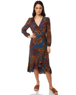 MULTI WOMENS CLOTHING TIGERLILY DRESSES - T381437MUL