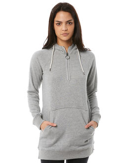 CHARCOAL WOMENS CLOTHING VOLCOM JUMPERS - B3111875CHARCOAL