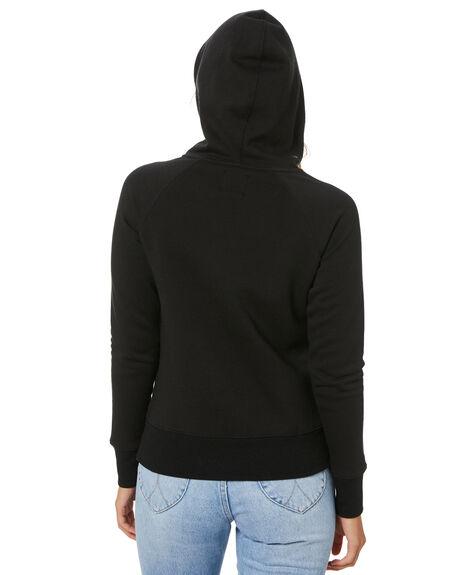 BLACK WOMENS CLOTHING VOLCOM JUMPERS - B3111886BLK