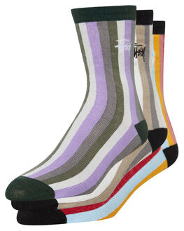 MULTI WOMENS CLOTHING STUSSY SOCKS + UNDERWEAR - ST792010MUL