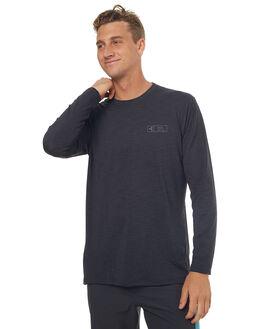 HEATHER BLACK SURF RASHVESTS XCEL MENS - MLM62617HBK