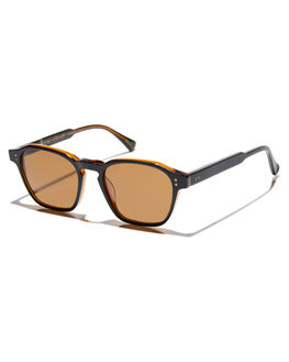 BLACK TAN BROWN MENS ACCESSORIES RAEN SUNGLASSES - 100U183ARE-S175
