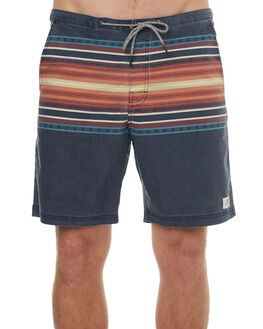 MIDNIGHT NAVY MENS CLOTHING KATIN BOARDSHORTS - TRBLAS17MDNVY