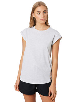 GREY MARLE WOMENS CLOTHING SILENT THEORY TEES - 6008046GRM