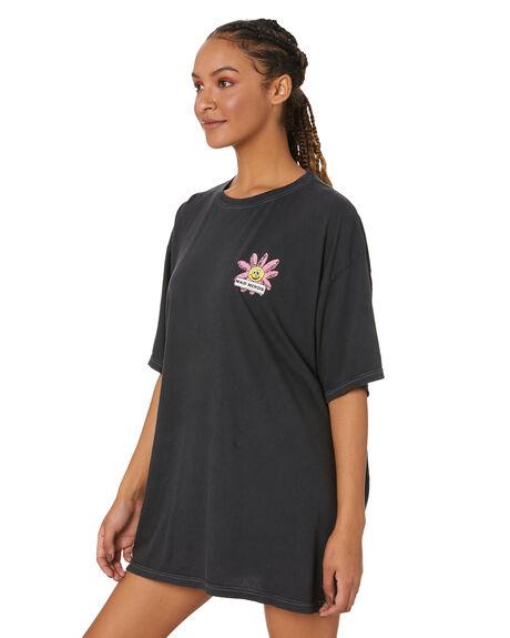 VINTAGE BLACK WOMENS CLOTHING MISFIT DRESSES - MT111010VNBLK