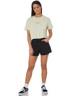 MINT WOMENS CLOTHING RVCA TEES - R282045MINT
