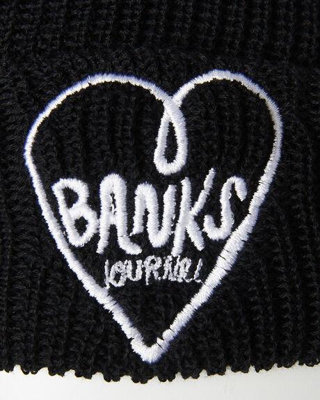 BLACK MENS ACCESSORIES BANKS HEADWEAR - BE0041BLK