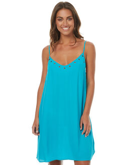 CARIBBEAN WOMENS CLOTHING RUSTY DRESSES - DRL0883CBN