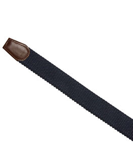 NAVY MENS ACCESSORIES ACADEMY BRAND BELTS - 19W03NVY