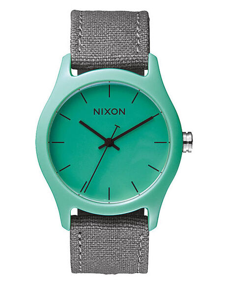 LIGHT BLUE GRAY MENS ACCESSORIES NIXON WATCHES - A4021527