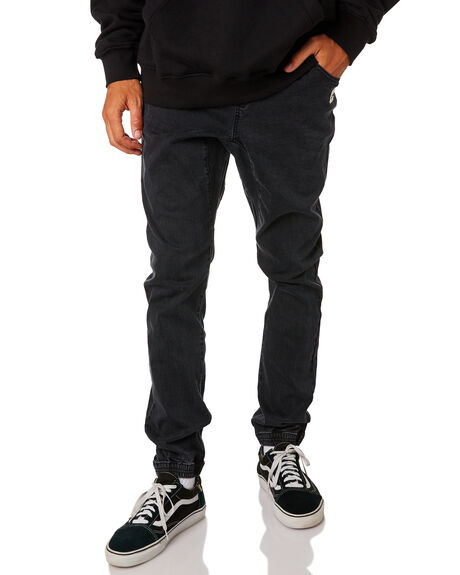 VINTAGE BLACK MENS CLOTHING RUSTY PANTS - PAM0976VBL