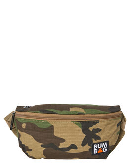 CAMO MENS ACCESSORIES THE BUMBAG CO BAGS + BACKPACKS - PB003CAM