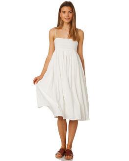 WHITE WOMENS CLOTHING RUE STIIC DRESSES - SA19-30-W2