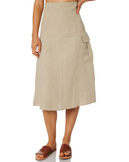 HUSK WOMENS CLOTHING ZULU AND ZEPHYR SKIRTS - ZZ2334HUS