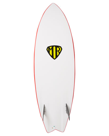 RED BOARDSPORTS SURF OCEAN AND EARTH SOFTBOARDS - SBEX56MRRED