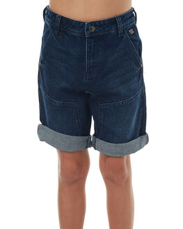BRUSHED INDIGO KIDS BOYS RIDERS BY LEE SHORTS - R-530030-C24IND