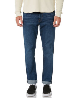 FADED INDIGO MENS CLOTHING OUTERKNOWN JEANS - 1630003FNK