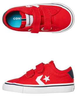 UNIVERSITY RED KIDS BOYS CONVERSE SNEAKERS - 766974CURED