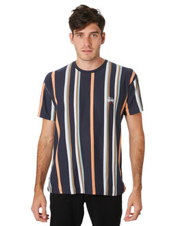 RUST MENS CLOTHING STUSSY TEES - ST091107RUST