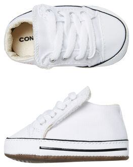 WHITE KIDS BABY CONVERSE FOOTWEAR - 865157CWHT
