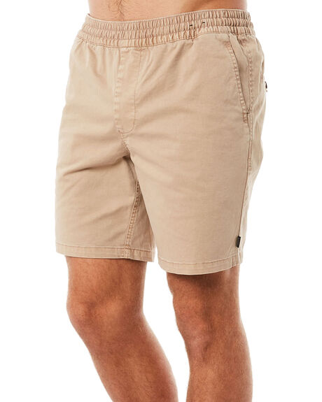 KHAKI MENS CLOTHING RIP CURL SHORTS - CWALC10064