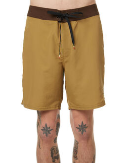 HONEY MUSTARD OUTLET MENS NO NEWS BOARDSHORTS - N5175233HMUST