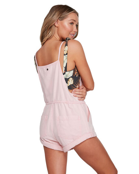 MELLOW ROSE WOMENS CLOTHING BILLABONG PLAYSUITS + OVERALLS - BB-6503535-MRO