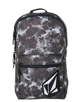 BLACK PRINT MENS ACCESSORIES VOLCOM BAGS + BACKPACKS - D6531650BPR