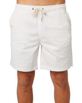 WHITE MENS CLOTHING ACADEMY BRAND SHORTS - 19S602WHI