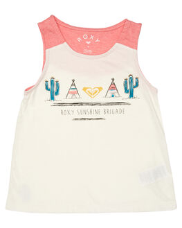 TEA ROSE HEATHER KIDS TODDLER GIRLS ROXY SINGLETS - ERLZT03095MJZH