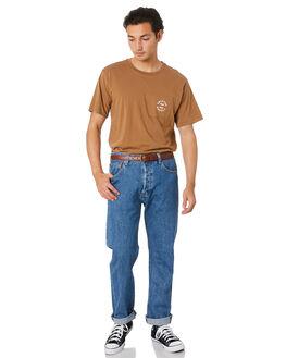 COCONUT MENS CLOTHING BRIXTON TEES - 16185COCO