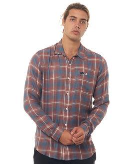 RAISIN MENS CLOTHING RVCA SHIRTS - R184182RSN