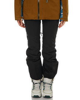TNF BLACK SNOW OUTERWEAR THE NORTH FACE PANTS - NF0A3336JK3RBLK