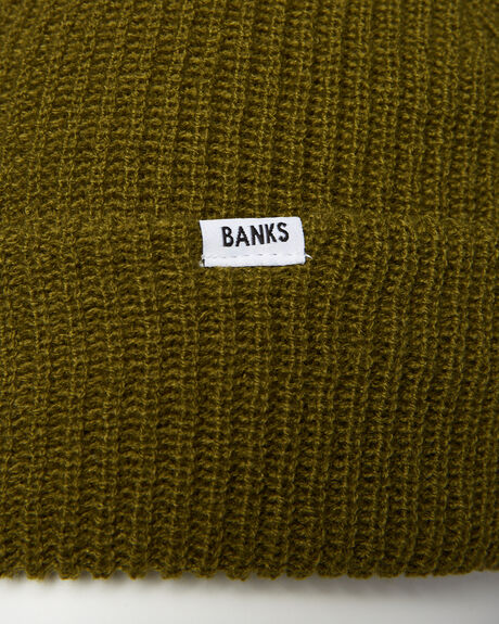 LODEN GREEN MENS ACCESSORIES BANKS HEADWEAR - BE0020LGR
