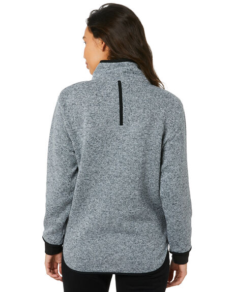 LIGHT GREY HEATHER WOMENS CLOTHING RIP CURL JUMPERS - GFEIV13233