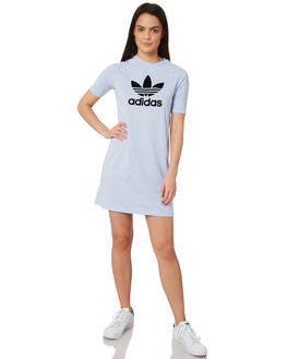 PERIWINKLE WOMENS CLOTHING ADIDAS DRESSES - DU9878PER