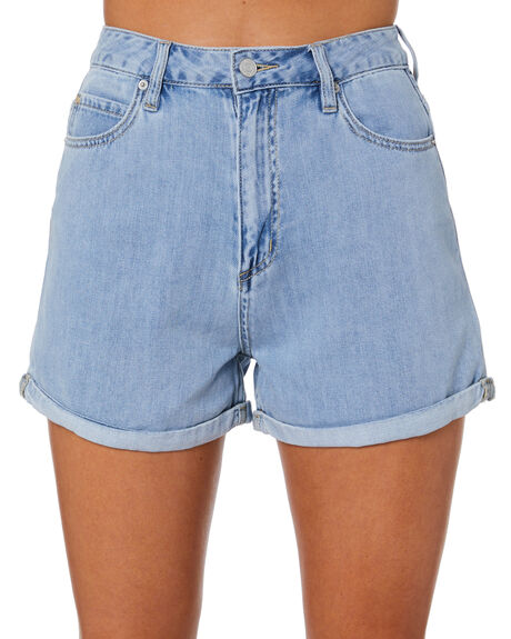 REAL BLUE WOMENS CLOTHING LEE SHORTS - L-656616-766