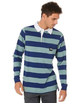 NEW NAVY MENS CLOTHING STUSSY SHIRTS - ST007105NWNVY
