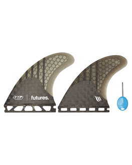 SMOKE BOARDSPORTS SURF FUTURE FINS FINS - HS2-021409SMOKE