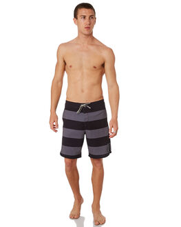 BLACK MENS CLOTHING CAPTAIN FIN CO. BOARDSHORTS - CR182011BLK