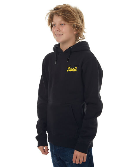 BLACK KIDS BOYS SWELL JUMPERS - S3171441BLK